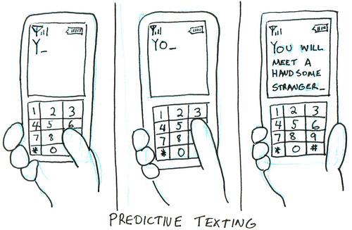 366 Cartoons - 338 - Predictive Texting