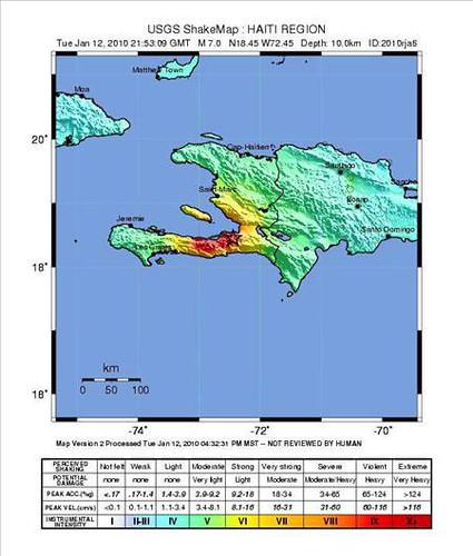 Sismo de magnitud 7,3 sacudió a Haití