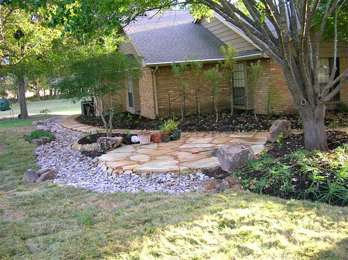 Frontyard backyard landscaping