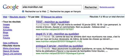 moinillon.net 15/01/2010