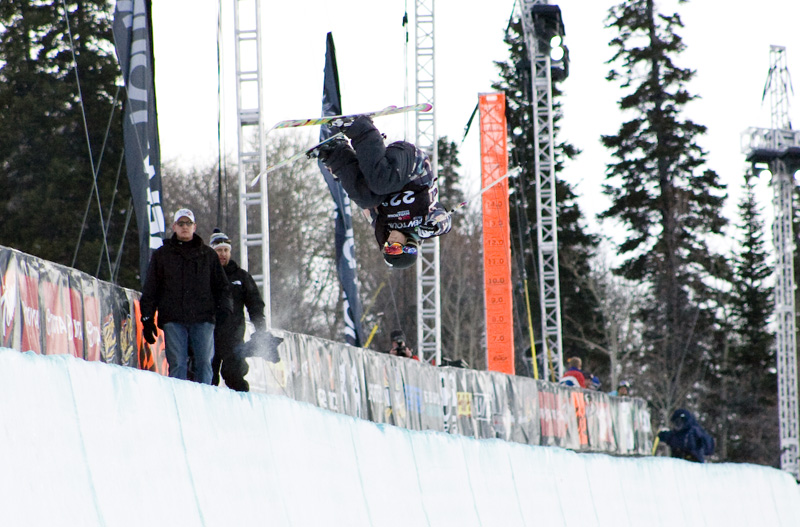 Sarah Burke and the Flare