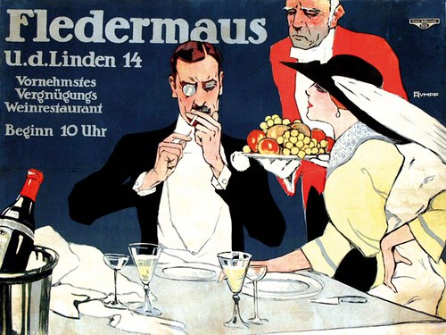Fledermaus, Berlin (1912)