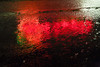 2009_WA_6995 (Lee Rentz) Tags: pictures light reflection wet rain weather night scarlet dark landscape photography lights photo washington parkinglot neon bright image photos hard picture olympicpeninsula images reflected wash photographs rainy photograph shelton wa raining climate imagery precipitation moist