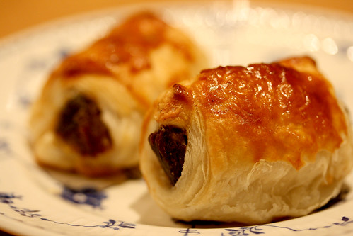 Pig Cheek Sausage Roll