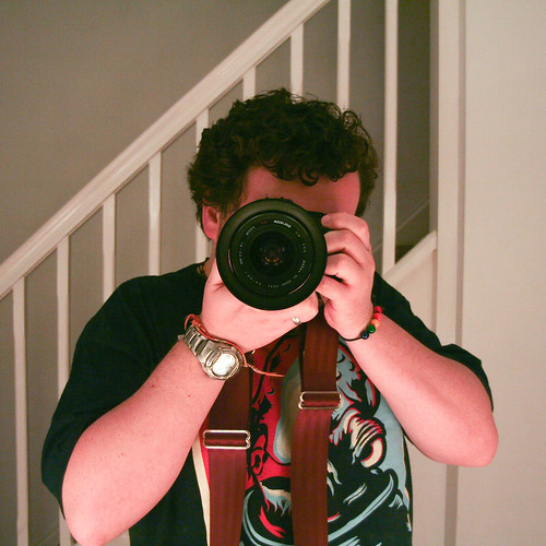 180110_ Self Portrait with Canon eos 350d