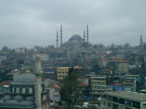 Istanbul on an Overcast Day