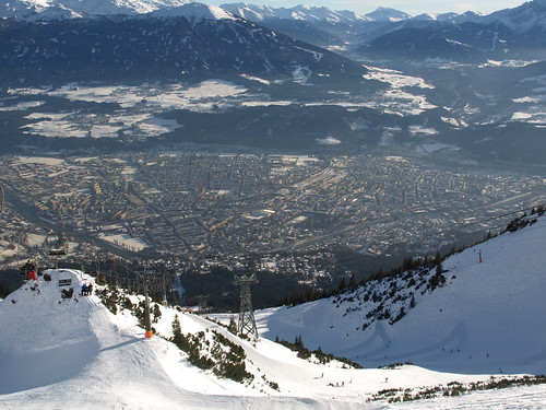 View of Innsbruck from the Skyline Park