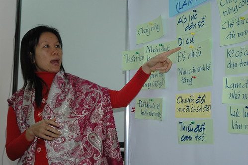 TOT on climate change training course