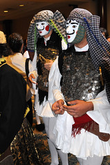 Church festival turkey dead greek death dance orlando mask dancing