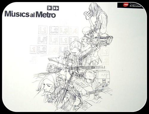 Musics al Metro (BCN)