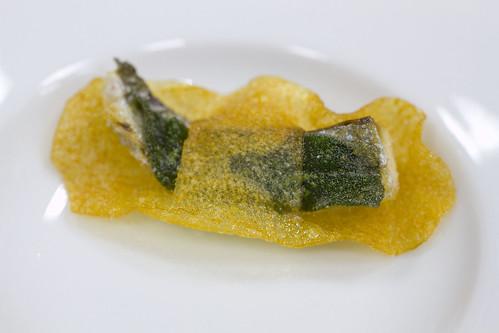 anchovy sage potato crisp