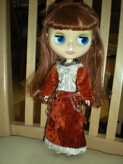 Narnia Blythe after the wardrobe