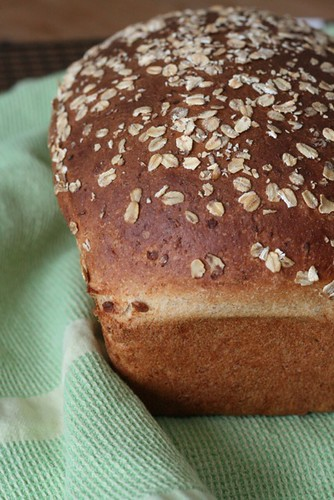 Oatmeal Buttermilk Wheat Bread