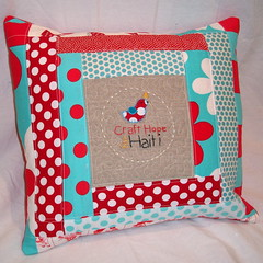 Craft Hope for Haiti Pillow