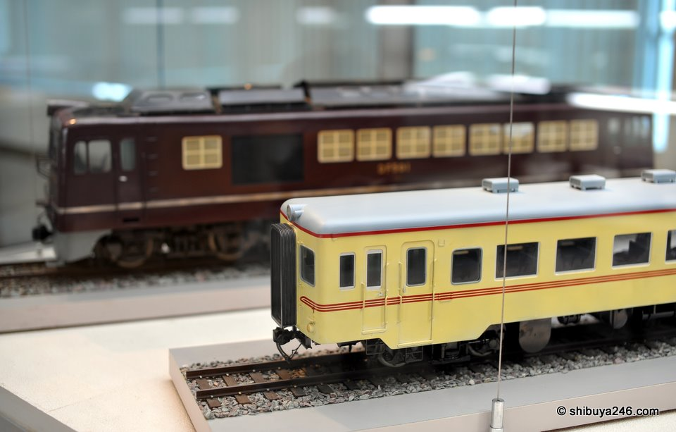 More scale model trains from the collection.