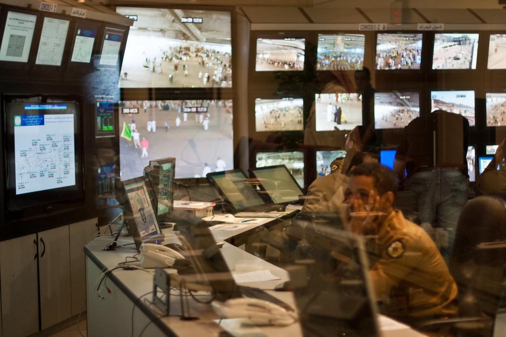 Hajj, Pilgrims, Mecca, Hajj Public Security control room