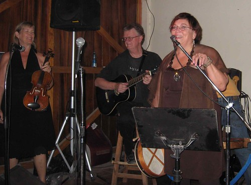 Celtic trio at Palapa Joe's