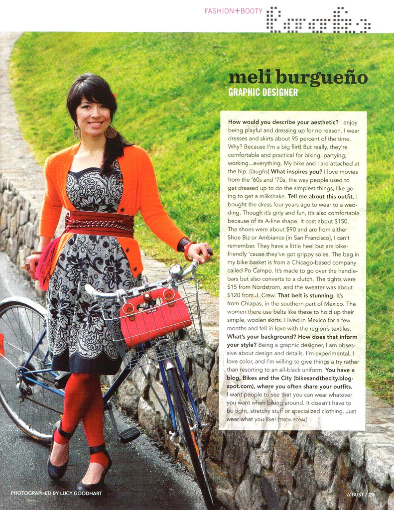 meli in bust magazine