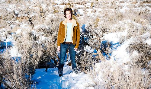 snowy portraits