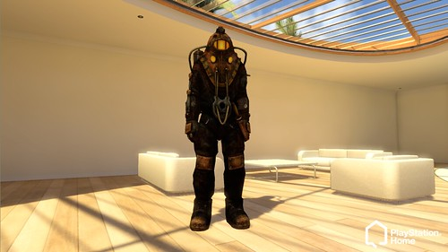PlayStation Home -  BioShock 2 Male_BigDaddy