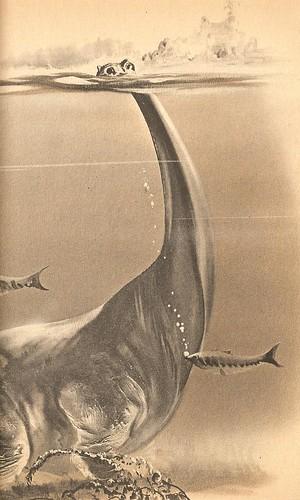 Snorklin' Dicraeosaurus
