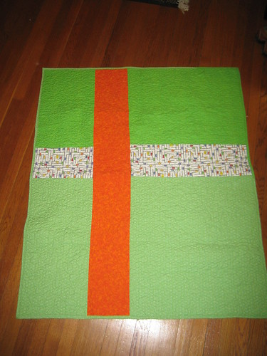 sweet kid quilt back