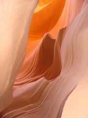 Dans l'antre d'Antelope Canyon par Franck Vervial