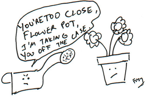 366 Cartoons - 358 - Flower Pot