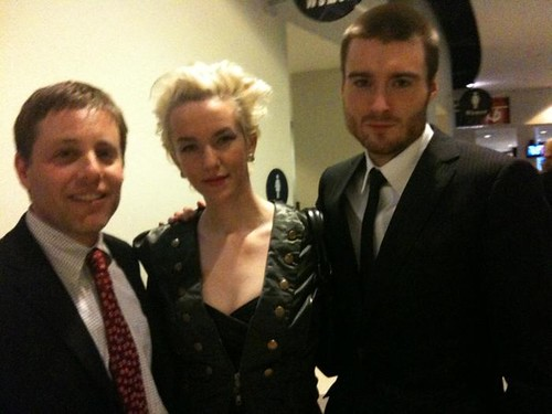 Grammys 2010: Andrew (Rocketboom) Xeni (Boing Boing) Pete (Mashable)