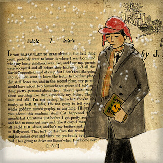 Holden Caulfield illustration
