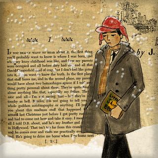 Holden Caulfield illustration