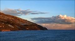 (Rafael Montes) Tags: blue sea sky espaa costa beach colors clouds la mar spain dramatic playa olympus colores andalucia cielo granada nubes tropical puesta rovers mediterranea rov motril 1442mm e520 rabita 220posse