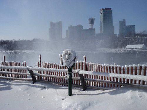 The smiling face of Niagara, NY