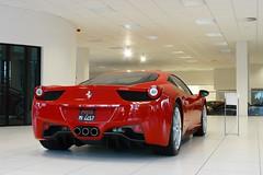 Ferrari 458 Italia (Niels de Jong) Tags: holland italia martin nederland ferrari exotic hilversum supercar dealership aston dealer 458 kroymans f458 nielsdejong ferrari458 458italia ferrari458italia ndjmedia
