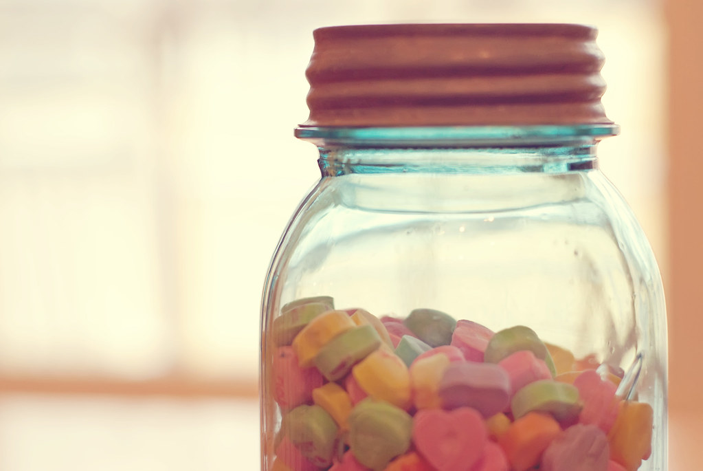 day 27 candy jar