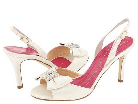 Wedding Shoes from Kate Spade and Touch Ups