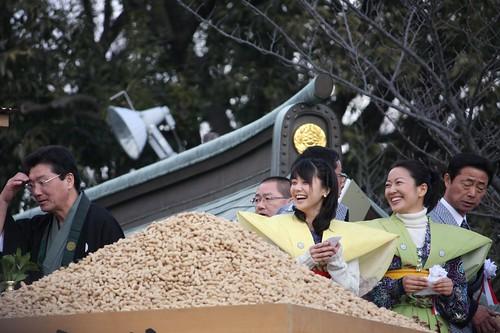 大阪 成田山不動尊 節分祭