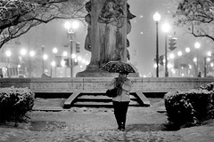 Snowfall 8264 (yospyn) Tags: blackandwhite washingtondc dc snowstorm dcist snowing dupontcircle 200mmf4dmicro nikond3 february22010