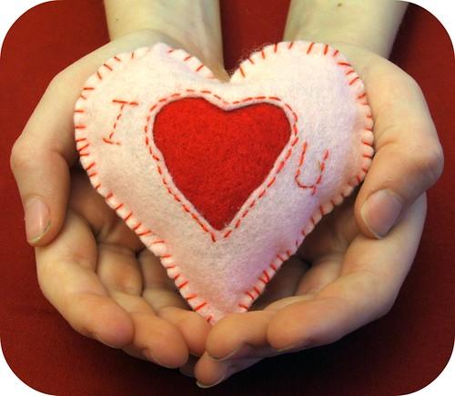 Heart'felt' Heart