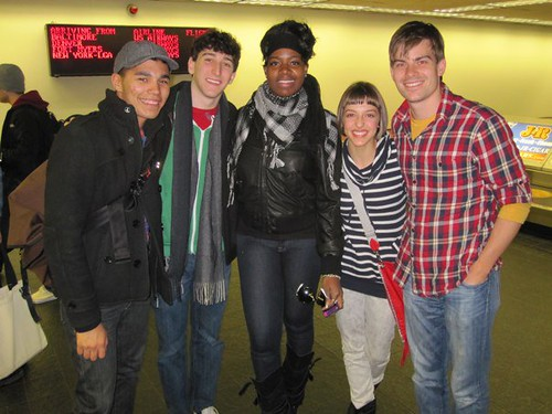 Fantasia meets the cast of Spring Awakening