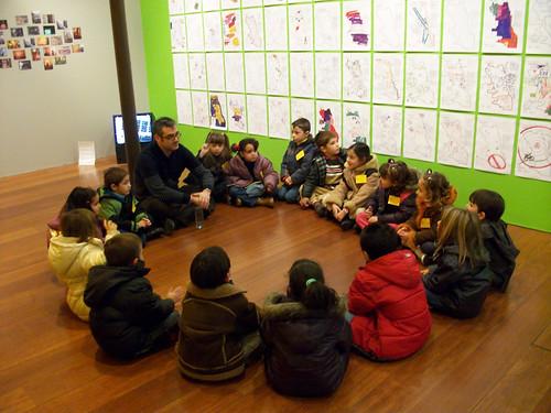 Visita del Colegio la Purísima de Jun a Transductores