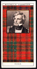 Cigarette Card - Clan Ross