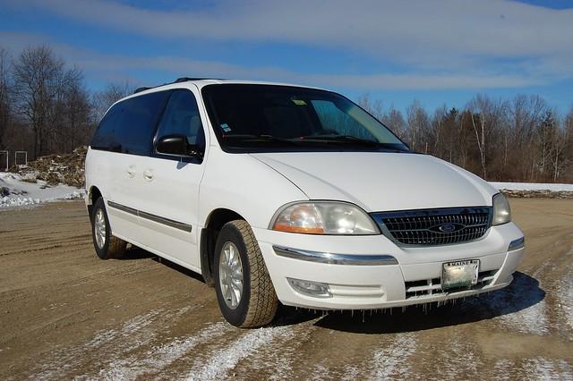 ford 1999 windstar minivan sel