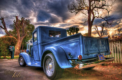 the countdown - painted with hdr (Kris Kros) Tags: painterly classic ford texture photoshop truck vintage bravo paint antique mini kris but oldies countdown goodies hdr kkg unleashed cs4 photomatix kros kriskros thecountdown 5xp bratanesque hdrbook hdrunleashed paintedwithhdr kkgallery