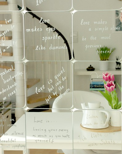 Love mirrors...