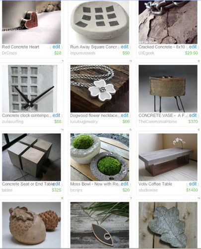 Beautiful Concrete Art - Treasury