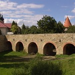 Bardejov: Upper gate with barbican