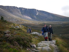 mountain navigation and scrambling course in the highlands of scotland