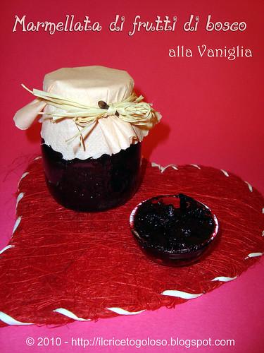 Marmellata di frutti di bosco alla vaniglia (1)