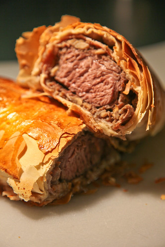 Beef Wellington Wrapped in Phyllo Dough